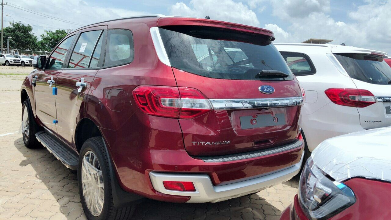 Ford Everest mới 2019