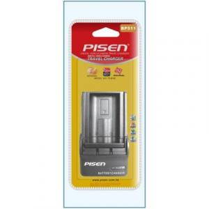 Sạc Pisen BP511 for Canon 50D, 40D, 30D, 20D, 5D