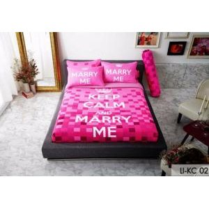 Bộ Drap Keep Calm LI-KC02 180x200