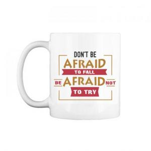 "Cốc chữ C 0.3L "" Don't be afraid to fall, be afraid not to try "" - 9164773 ,  ,  , 79000 , Coc-chu-C-0.3L-quot-Don039t-be-afraid-to-fall-be-afraid-not-to-try-quot-79000 , shop.vnexpress.net , Cốc chữ C 0.3L "" Don't be afraid to fall, be afraid not to try """