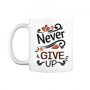 "Cốc chữ C 0.3L "" Never give up """