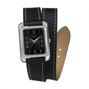 Đồng hồ nữ Timex Addison 25mm Double Wrap Leather Strap - TW2R90000