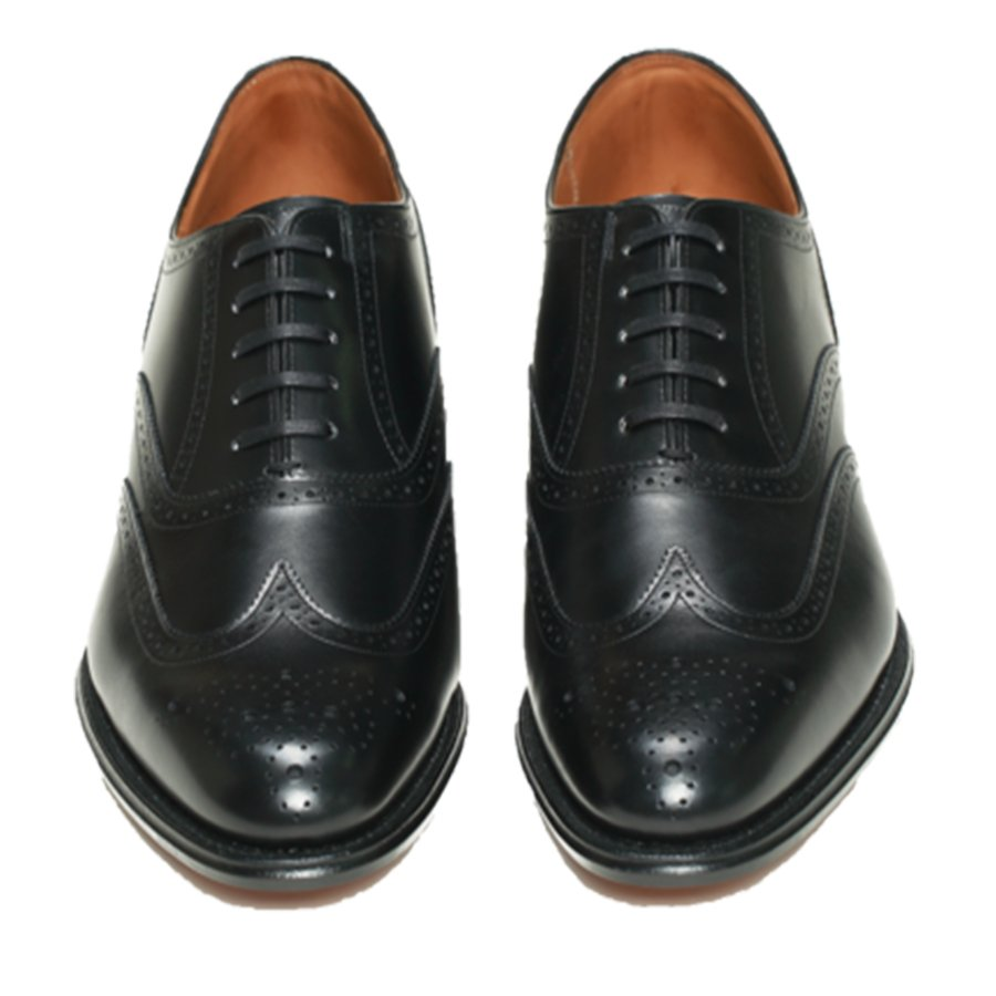 REGAL Oxford Wing Tip Full Brogue Black