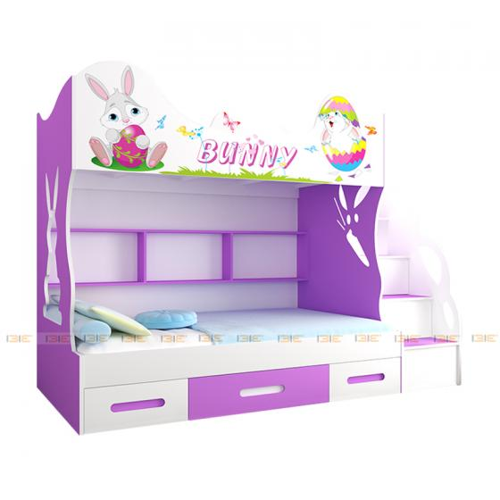 Giường tầng cao Bunny 1m2