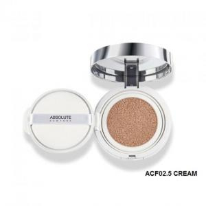 Phấn nước cushion Absolute New York HD Flawless Cushion Compact Foundation ACF 02.5 Cream