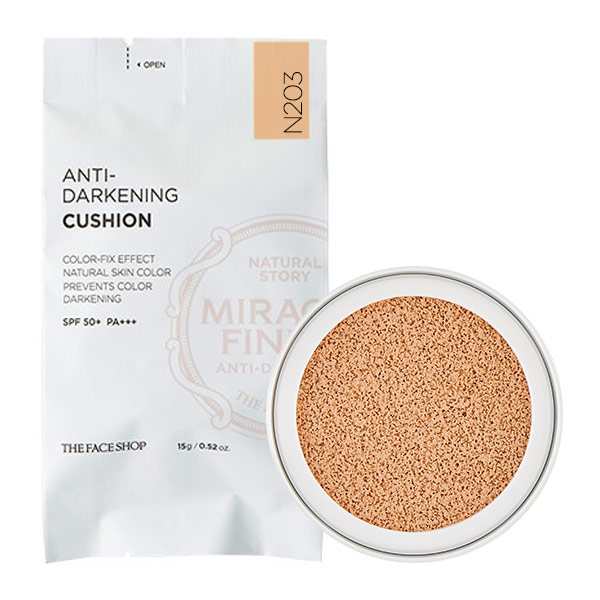(REFILL) Phấn Nước Chống Xỉn Màu Da THE FACE SHOP ANTI-DARKENING CUSHION N203 - 3742518 , 34201574 , 272_1011946087 , 331000 , REFILL-Phan-Nuoc-Chong-Xin-Mau-Da-THE-FACE-SHOP-ANTI-DARKENING-CUSHION-N203-272_1011946087 , thefaceshop.com.vn , (REFILL) Phấn Nước Chống Xỉn Màu Da THE FACE SHOP ANTI-DARKENING CUSHION N203