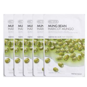 Mặt Nạ Thanh Lọc Da THEFACESHOP REAL NATURE MUNG BEAN FACE MASK (SET 5 PCS) - 3945695 , EC-PRO07-20 , 272_1016070115 , 142000 , Mat-Na-Thanh-Loc-Da-THEFACESHOP-REAL-NATURE-MUNG-BEAN-FACE-MASK-SET-5-PCS-272_1016070115 , thefaceshop.com.vn , Mặt Nạ Thanh Lọc Da THEFACESHOP REAL NATURE MUNG BEAN FACE MASK (SET 5 PCS)