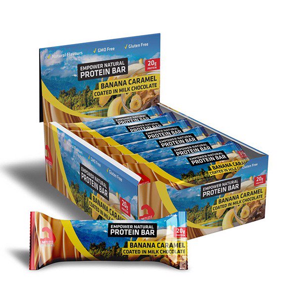 Hộp 12 Thanh Bánh Empower Natural Protein Bar 720g (20g Protein)