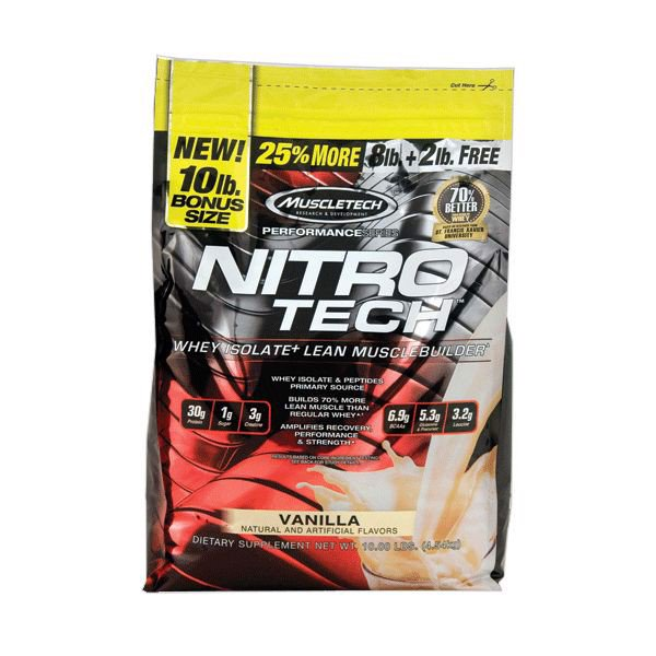 Sữa Tăng Cơ Nitro-Tech Performance Series 4.54kg 2 mùi - 4358523 , 1005767630 , 363_1005767630 , 3120000 , Sua-Tang-Co-Nitro-Tech-Performance-Series-4.54kg-2-mui-363_1005767630 , ifitness.vn , Sữa Tăng Cơ Nitro-Tech Performance Series 4.54kg 2 mùi
