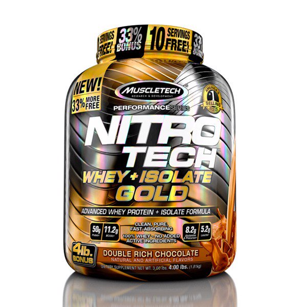 Sữa Tăng Cơ Nitro-Tech Whey Plus Isolate Gold 1.8kg - 2 mùi - 4357580 , 1019204231 , 363_1019204231 , 1450000 , Sua-Tang-Co-Nitro-Tech-Whey-Plus-Isolate-Gold-1.8kg-2-mui-363_1019204231 , ifitness.vn , Sữa Tăng Cơ Nitro-Tech Whey Plus Isolate Gold 1.8kg - 2 mùi