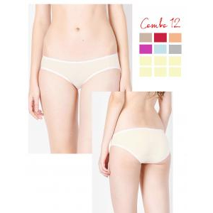 Combo 12 quần lót Multi Color Panties