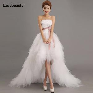 Ladybeauty 2019 Low price the bride royal princess wedding dress short train formal dress short design wedding growns - 10118020 , 32439913545 , 356_32439913545 , 46 , Ladybeauty-2019-Low-price-the-bride-royal-princess-wedding-dress-short-train-formal-dress-short-design-wedding-growns-356_32439913545 , aliexpress.com , Ladybeauty 2019 Low price the bride royal princes