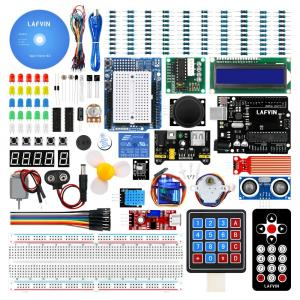 LAFVIN Super Starter Kit for Arduino for UNO R3 with CD Tutorial - 10118050 , 32865507121 , 356_32865507121 , 23.99 , LAFVIN-Super-Starter-Kit-for-Arduino-for-UNO-R3-with-CD-Tutorial-356_32865507121 , aliexpress.com , LAFVIN Super Starter Kit for Arduino for UNO R3 with CD Tutorial