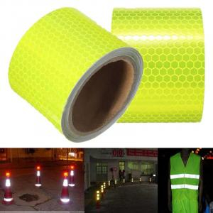 New Arrive 3M fluorescent reflective tape Pure Yellow Car Truck Motorcycle Sticker Safety Warning Signs conspicuity tape roll - 10117997 , 32639638438 , 356_32639638438 , 2.02 , New-Arrive-3M-fluorescent-reflective-tape-Pure-Yellow-Car-Truck-Motorcycle-Sticker-Safety-Warning-Signs-conspicuity-tape-roll-356_32639638438 , aliexpress.com , New Arrive 3M fluorescent reflective ta