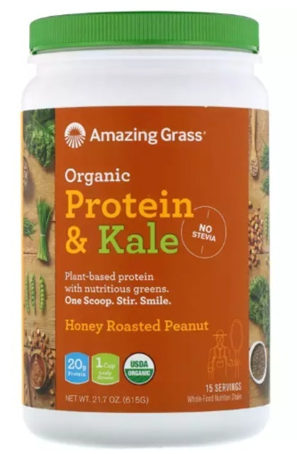 Bột Amazing Grass Organic Protein & Kale