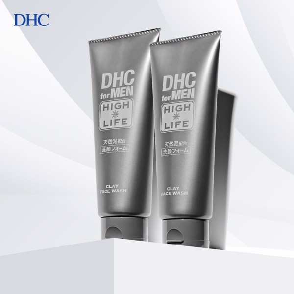 Sữa rửa mặt DHC for Men High Life Clay Face Wash